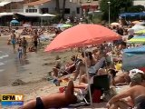 Les premiers vacanciers déjà sur les plages