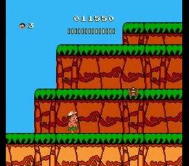 Hudson's Adventure Island II, NES - Test muet Lyssal
