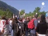 More demonstrations in Italy against Alpine rail link