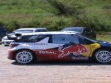 sebastien loeb démare avec la DS3 WRC