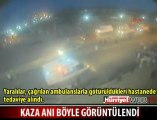 Mersin Tarsus Karayolunda Yaşanan Kaza Anı!