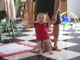 Liam veut deja marcher
