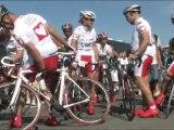 """Tour2011. Les people roulent pour """"mécénat chirurgie cardiaque"""""""
