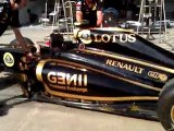 Lotus Renault GP F1 Valencia 2011