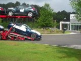 Transporting the New 2012 Nissan GT-R Black Edition - Hilton Head SC