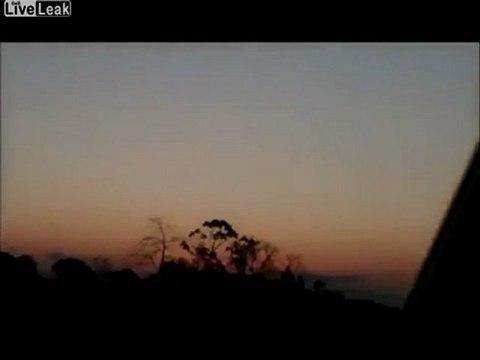 Ovni Ufo o Meteorito Mexico 29 Junio 2011