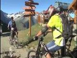 images sans commentaires du mondial de VTT aux 2 Alpes