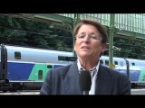 Josianne Beaud Directrice Rhône-Alpes de la SNCF avec Annecy 2018