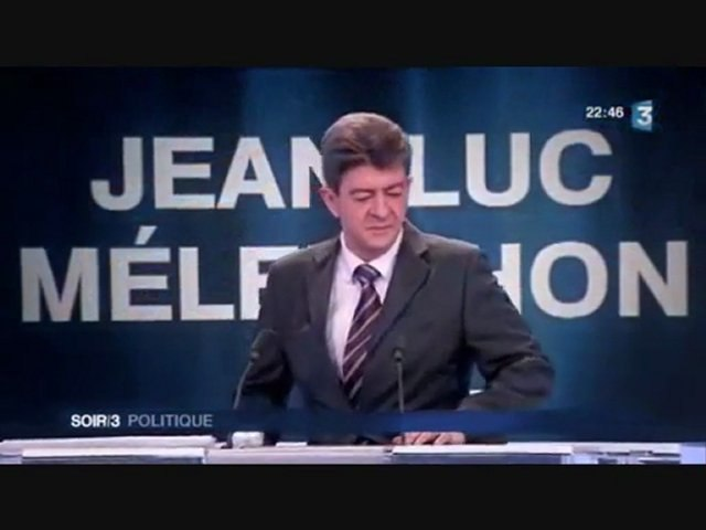 Zapping Mélenchon - populisme