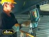 Comment percer ou perforer de l'acier avec du matériel de pro ?