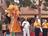 SPECTACLE - Démo spectacle de rue - Thème du Brésil (2005)