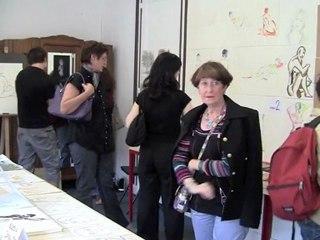 Cours de dessin : expo des élèves 2011