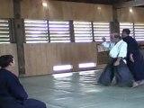 cours aikido au dojo de la montagne juin 2011