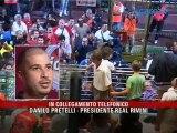Icaro TV. Il giorno dopo il derby del presidente del Real Rimini, Danilo Pretelli