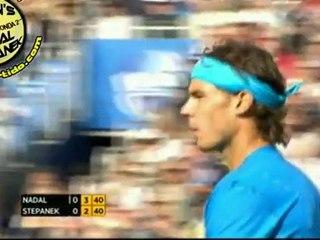SET1 Rafael Nadal vs Radek Stepanek R3 QUEENS 2011 [Highlights by Courtyman]