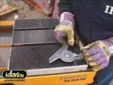 Comment scier les carreaux de gravillons lavés, les granits, les marbres et les matériaux de maçonnerie avec une scie à matériaux sur table ?