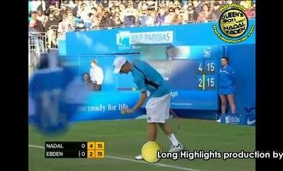SET1 Rafael Nadal vs Matthew Ebden R2 QUEENS 2011 [Long Highlights by Courtyman]