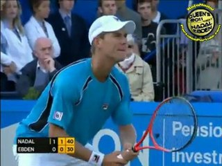 Rafael Nadal vs Matthew Ebden R2 QUEENS 2011 [Long Highlights by Courtyman]