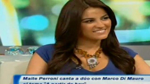 Maite habla de Triunfo del Amor y sus proyectos (DA)