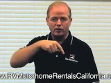 RV Rentals Orange County California - RV Motorhome Rentals