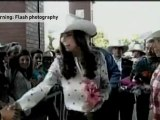 Rodeo Royals dress for Canadian Wild West