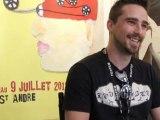 Interview Gilles Bindi - Festival du film court en plein air - Mercredi 6 juillet 2011