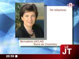 Bernadette Laclais : hommage à André Gilbertas (Chambéry)