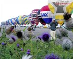 Le Lorraine Mondial Air Ballons décolle à Chambley