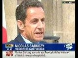 Nicolas Sarkozy s'exprime sur son état de santé
