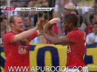 Boca Juniors 1-2 Machester United
