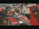 Audi R10 Preparing for Le Mans 2008