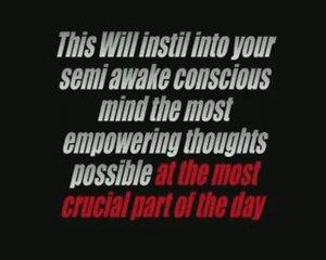 Personal Development Affirmations Motiwake Alarm Clock