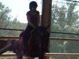 cours d'équitation au centre équestre de briounas