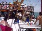 Djerba !! Sur le bateau pirates! Danse des pirates, Omar...