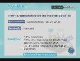 Datos interesantes de los Medios Sociales como Twitter.