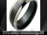 Gold and Titanium Rings - Jewelry Titanium Rings