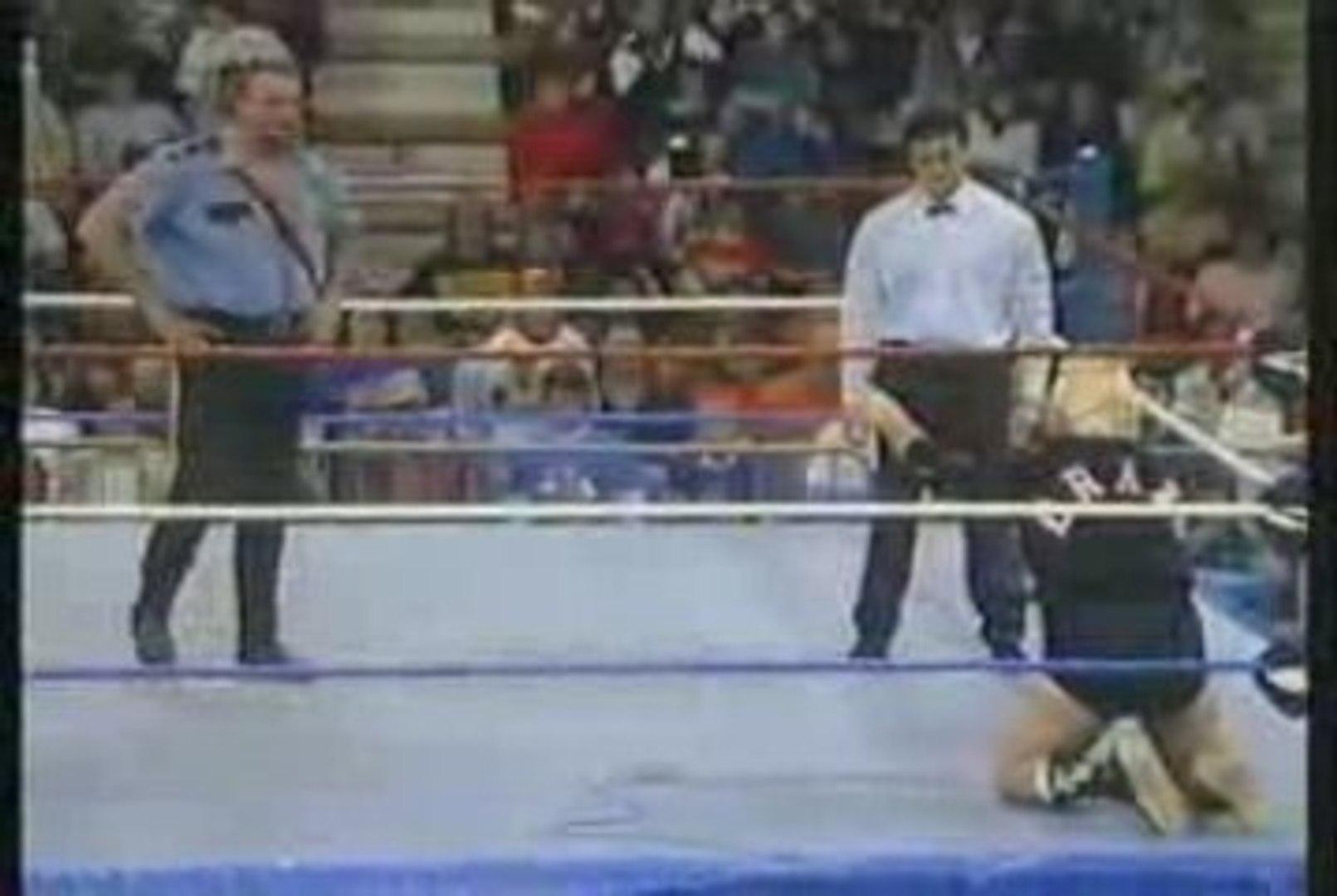 Bobby Heenan vs Big Bossman