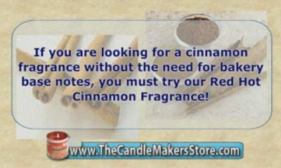 Candle Scents: Red Hot Cinnamon Fragrance