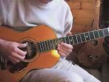 Thumpin' the blues - acoustic blues guitar instrumental