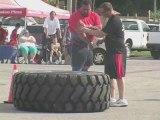 Tire Flip at Ontario's Strongest Man