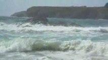 vagues à belle ile