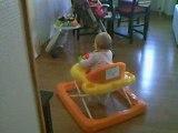 Premiere pats de ma fille dans son youpala