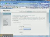 FREE BlackBerry New Web Desktop Manager 2009