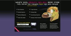 Taco bell - Get $50 towards free taco bell meal