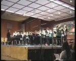 Spectacle de fin d'année, partie chorale