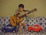 Genius Kid Singing Beatles Song