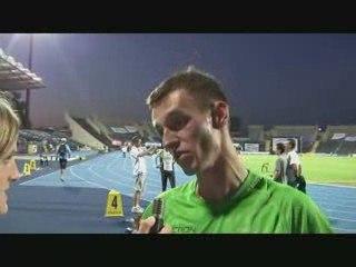 Łukasz Parszczynski po biegu na 5000m