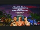 Triple Threat Match : John Cena vs Triple H vs Randy Orton