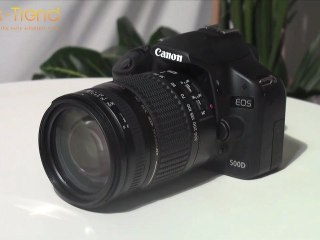 Test du Canon EOS 500D par Geek-Trend