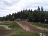 Moto Cross saint apollinaire saut principal inter